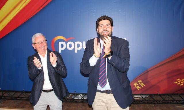López Miras: Las medidas de apoyo a las empresas que propone el PP son la mejor garantía para seguir atrayendo inversiones a la Región de Murcia - 1, Foto 1