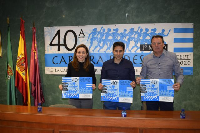 Presentada la 40a Carrera Pedestre 1° de Mayo de Ceutí - 1, Foto 1