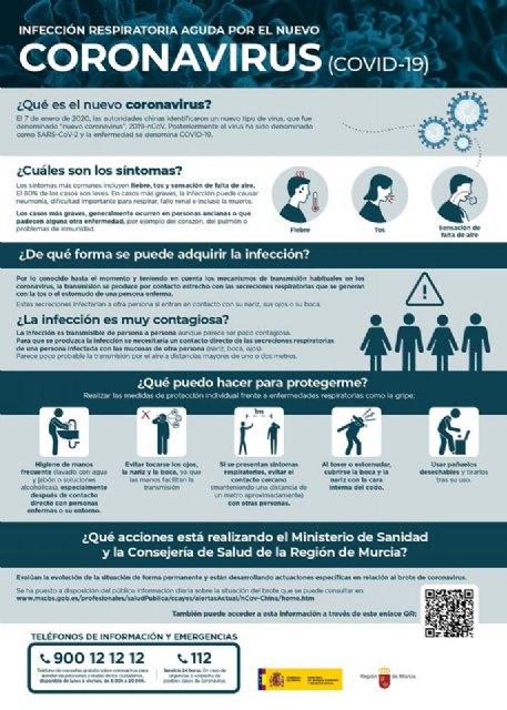 Información y medidas preventivas frente al Coronavirus - 1, Foto 1