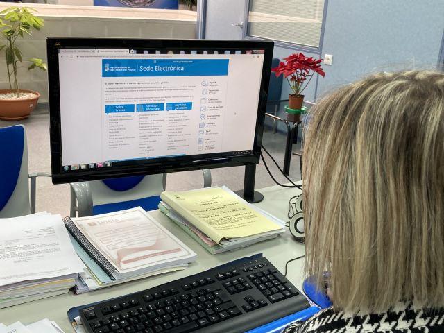 San Pedro del Pinatar apuesta por la administración electrónica con 373 trámites online - 1, Foto 1