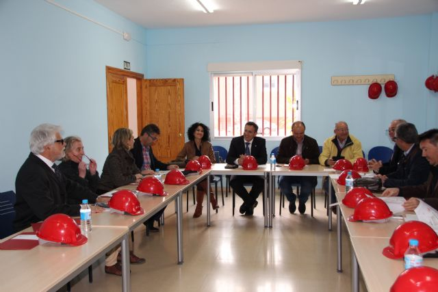 Visita a las instalaciones de la Fundación Laboral de la Construcción, Foto 1