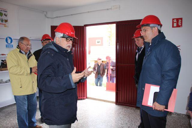Visita a las instalaciones de la Fundación Laboral de la Construcción, Foto 2
