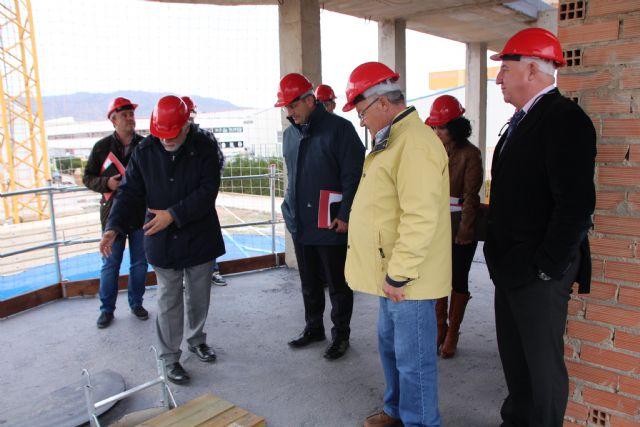 Visita a las instalaciones de la Fundación Laboral de la Construcción, Foto 3