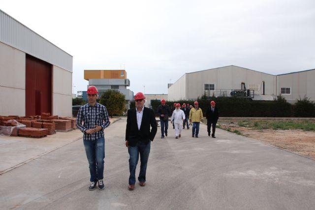 Visita a las instalaciones de la Fundación Laboral de la Construcción, Foto 5