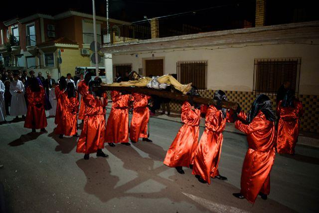 Los desfiles de los antiguos legionarios en el Puerto y de las promesas en Mazarrón retoman el calendario de procesiones en el municipio, Foto 2