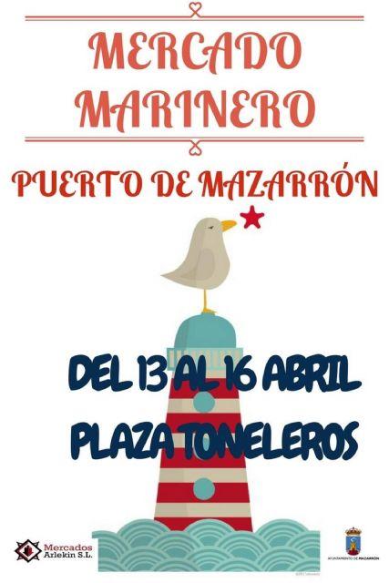 La plaza Toneleros albergará un mercado marinero durante el puente de Semana Santa, Foto 2