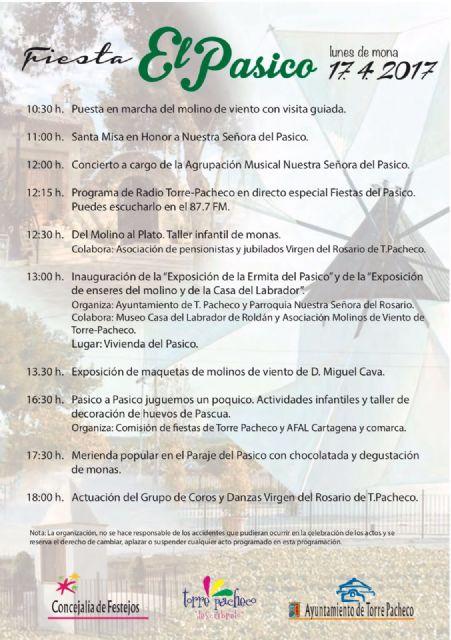 El lunes de mona se celebra la tradicional Fiesta del Pasico en Torre-Pacheco - 3, Foto 3