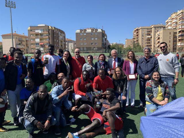 150 personas han participado en la final del Torneo de Fútbol en Red por la Inclusión que ha tenido lugar hoy en el Barnés - 1, Foto 1