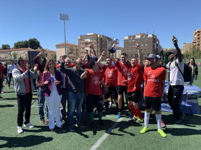 150 personas han participado en la final del Torneo de Fútbol en Red por la Inclusión que ha tenido lugar hoy en el Barnés - 2, Foto 2