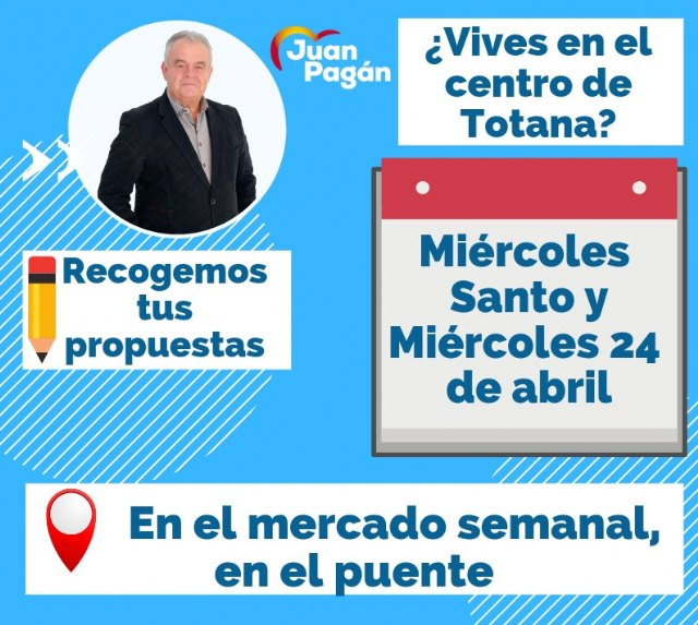 Juan Pagán starts a special neighborhood collection campaign for the MUNICIPALITY CENTER - 3
