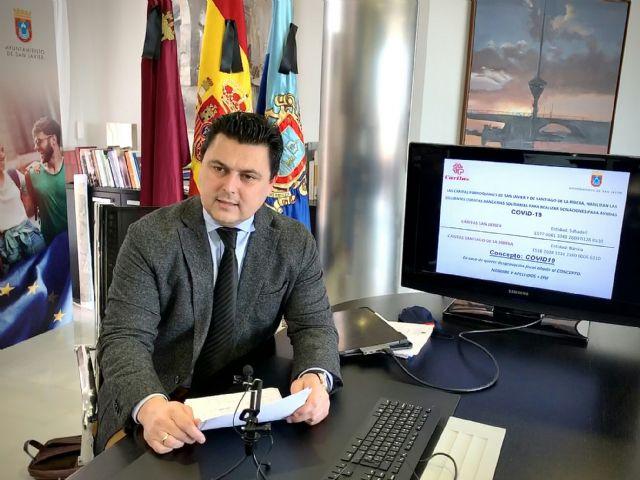 El Ayuntamiento dirige a Cáritas las solicitudes recibidas de donaciones para los más necesitados - 1, Foto 1