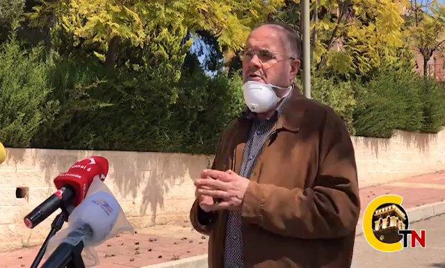 The mayor takes stock of the evolution of the coronavirus epidemic in Totana