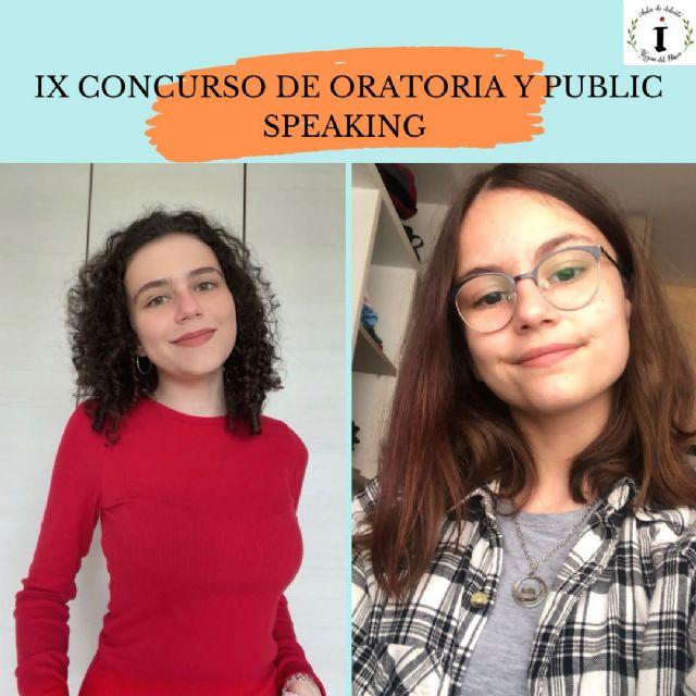 Doble premio nacional de Oratoria en Torre Pacheco al lograr dos alumnas ser las mejores oradoras de España - 2, Foto 2