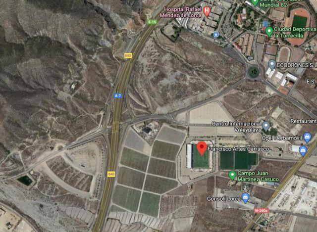 El Ayuntamiento de Lorca aprueba el Avance de un Plan Parcial de Suelo Urbanizable junto al Campo de Fútbol 'Artés Carrasco' en La Torrecilla de 119.053 m² - 2, Foto 2