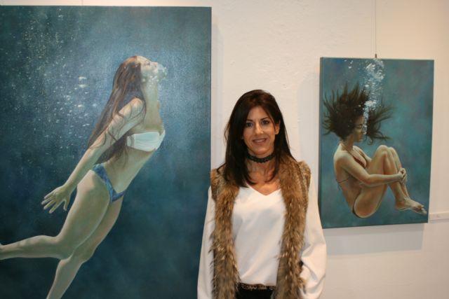 Perla Fuertes inaugura hoy su exposición ´Caja de agua II´ en el Real Casino de Murcia, Foto 2