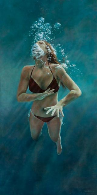 Perla Fuertes inaugura hoy su exposición ´Caja de agua II´ en el Real Casino de Murcia, Foto 3