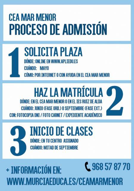 Abierto el plazo de matrícula del Centro de Educación de Adultos de Torre Pacheco - 3, Foto 3