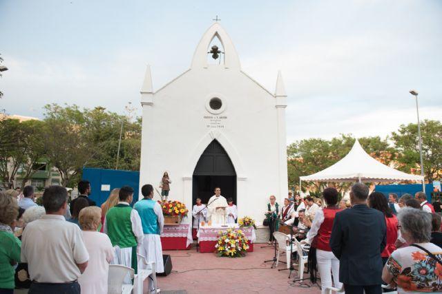 Comienzan las fiestas en el barrio de San Isidro de Puerto de Mazarrón, Foto 1