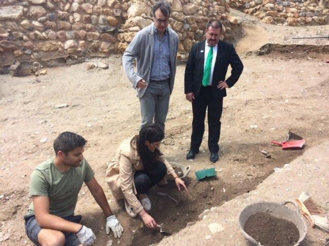 Las excavaciones en el yacimiento arqueológico de