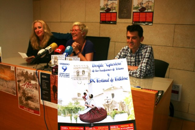 "Totana will host the Ninth Folklore Festival and Costumbrista Parade ""Güertero"" on June 9 - 2"
