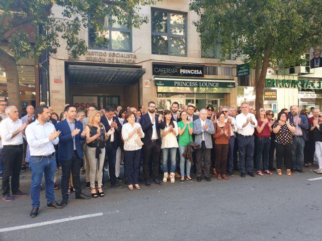 Teresa Rosique: En el PSOE todos lloramos la pérdida de un socialista hasta la médula - 1, Foto 1