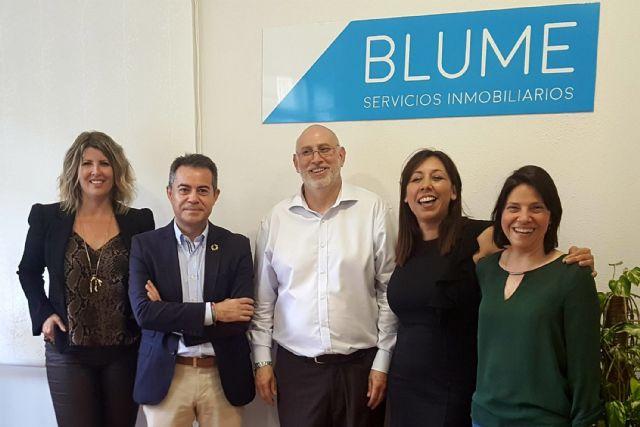 Blume Servicios inmobiliarios, empresa asociada a ASECOM, abre nuevas oficinas en Lorquí y Molina de Segura - 1, Foto 1