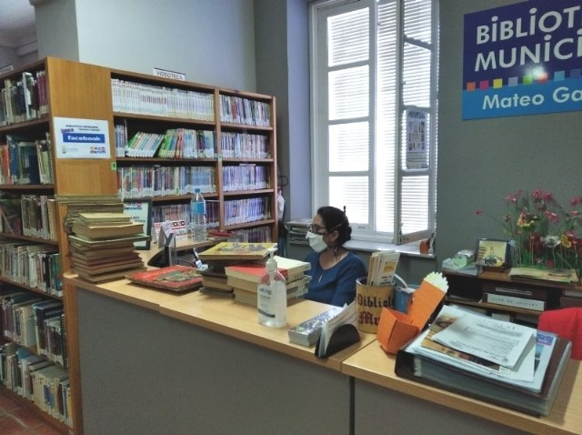 "The Municipal Library ""Mateo García"" takes preventive measures in order to reopen it as soon as possible"