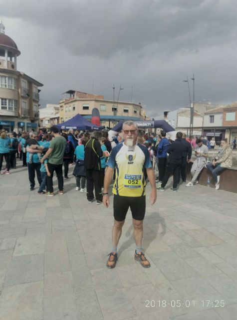 Juan Francisco García, from the Totana Athletics Club, participated in the Popular Race of Serón (Almería)