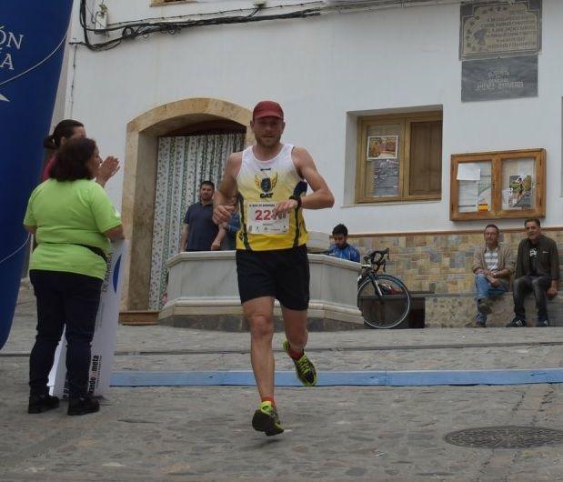 Juan Francisco García, from the Totana Athletics Club, participated in the Popular Race of Serón (Almería) - 2