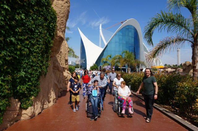 PADISITO made a trip to the Oceanografic of Valencia on the occasion of its 25th anniversary, Foto 3