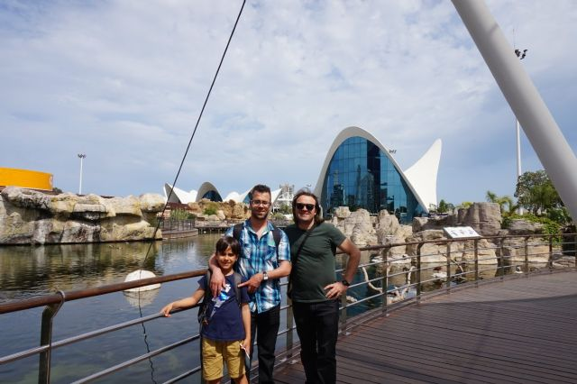 PADISITO made a trip to the Oceanografic of Valencia on the occasion of its 25th anniversary, Foto 6