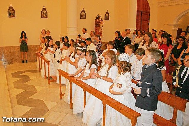 Niños de 3º de primaria del Colegio La Milagrosa celebraron una eucaristía en la Capilla del Colegio, Foto 2
