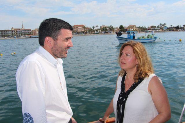 Avanza la instalación de redes antimedusas en las zonas de baño del Mar Menor - 2, Foto 2
