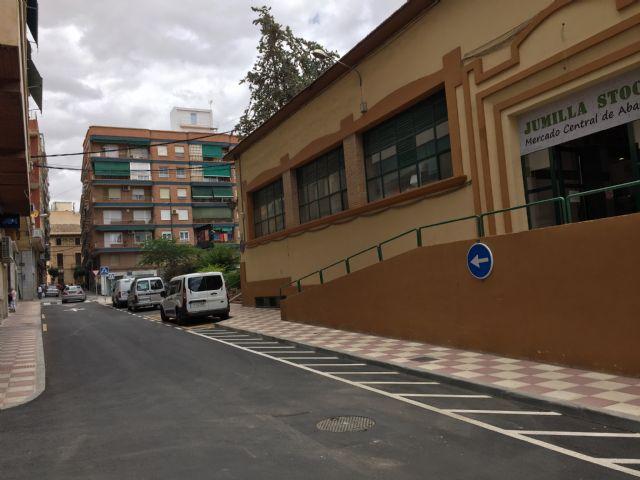 La pasada semana finalizaron las obras de la calle Fueros y esta terminarán las de Goya - 1, Foto 1