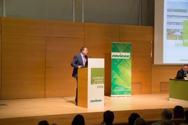 Coviran celebra su asamblea general de socios,  ratifica la gestión y las cuentas de 2017 y hace balance de sus retos futuros - 1, Foto 1