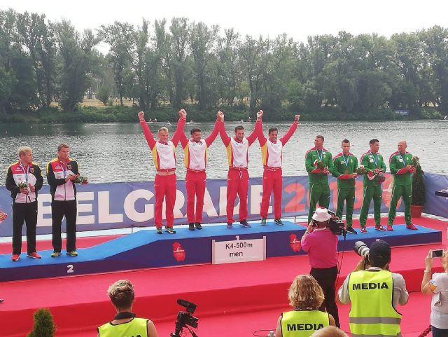 Gran éxito de los piragüistas UCAM con el equipo español en el Campeonato de Europa - 1, Foto 1