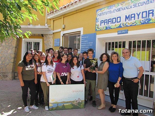 Recuperación Educativa de Pueblos Abandonados 2018. Granadilla – IES Prado Mayor, Foto 3
