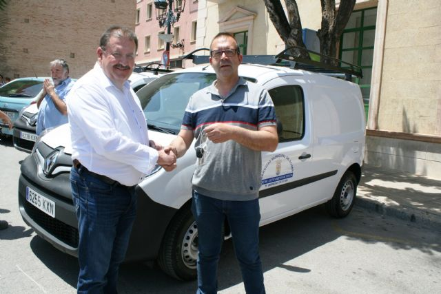Three new vehicles-vans are purchased for the Municipal Water Service in order to improve and expand the fleet - 3