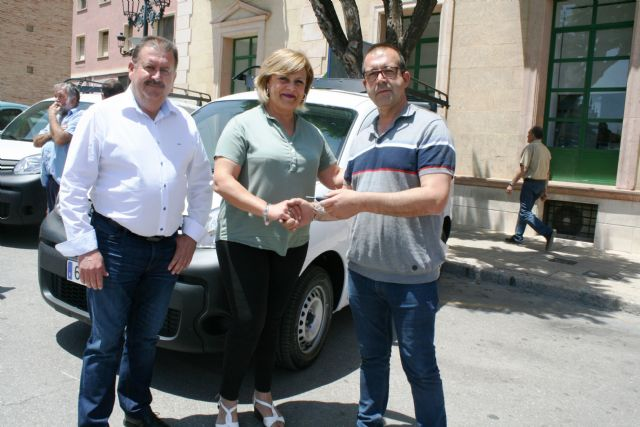 Se adquieren tres nuevos vehículos-furgonetas para el Servicio Municipal de Aguas con el fin de mejorar y ampliar la flota, Foto 4