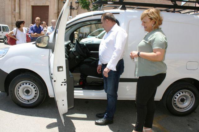 Se adquieren tres nuevos vehículos-furgonetas para el Servicio Municipal de Aguas con el fin de mejorar y ampliar la flota, Foto 5