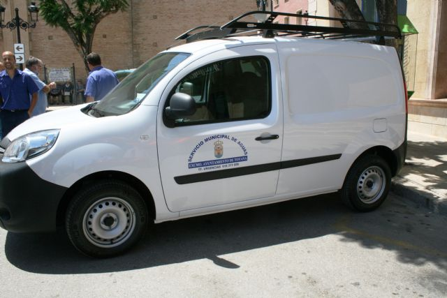 Three new vehicles-vans are purchased for the Municipal Water Service in order to improve and expand the fleet - 6