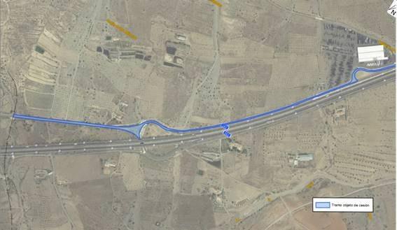 Fomento cede al Ayuntamiento de Puerto Lumbreras la titularidad de un tramo de la vía de servicio de la autovía A-7 - 1, Foto 1