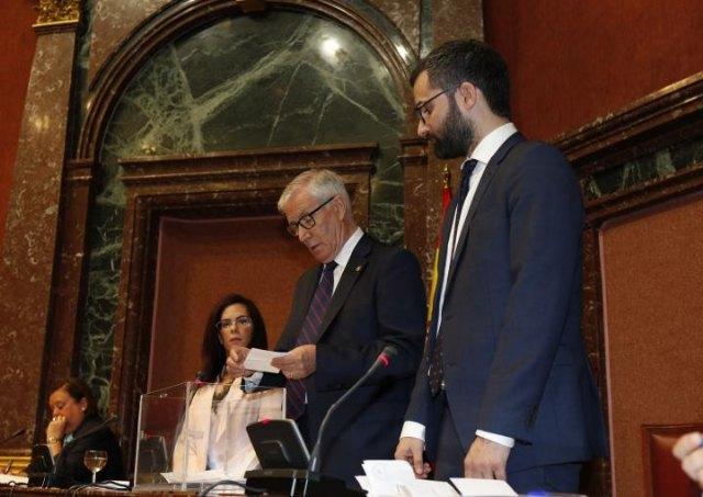 Alberto Castillo, diputado de Ciudadanos, nuevo presidente de la Asamblea Regional de Murcia, Foto 2