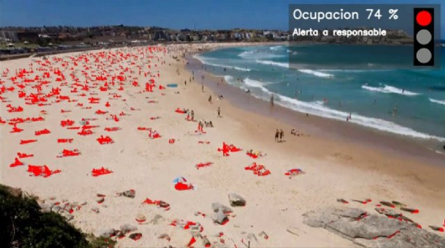 Telefónica diseña el sistema más avanzado del mercado para controlar el aforo en las playas - 1, Foto 1