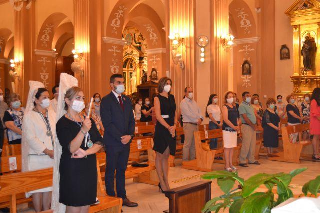 Una misa y una procesión por el interior de la iglesia de San Juan, únicos actos en el Día Grande del Patrón, Corpus Christi - 2, Foto 2