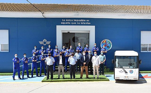 La PAPEA (Patrulla Acrobática de Paracaidismo del Ejército del Aire) comienza su electrificación de la mano de Turiscar Ecotrain - 1, Foto 1