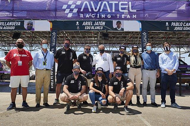 Avatel acude a la Baja Extremadura con seis coches, uno eléctrico, y fuerte presencia femenina - 1, Foto 1