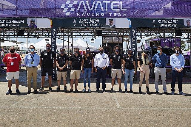 Avatel acude a la Baja Extremadura con seis coches, uno eléctrico, y fuerte presencia femenina - 2, Foto 2