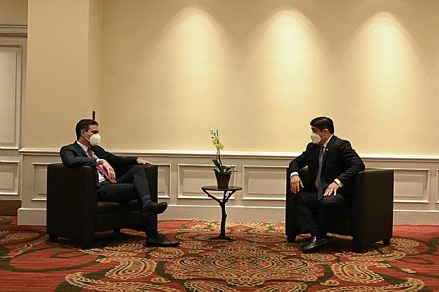 Sánchez subraya ante Alvarado el compromiso de España con Centroamérica, región prioritaria para nuestro país - 2, Foto 2