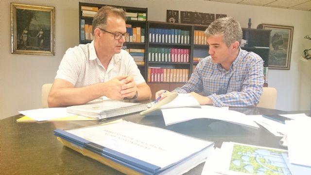 El director general del Agua se reúne con el alcalde de Ricote - 1, Foto 1